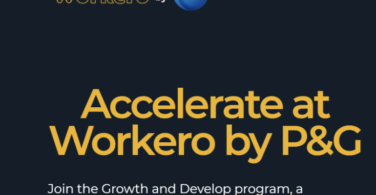 Workero by P&G ecosystem of innovative companies